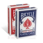 Single Deck Poker Bicycle Cards