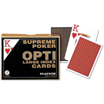 10456 - Piatnik Playing Cards - Opti - Poker Size Double Deck