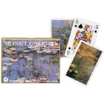 1541 - Double Deck Bridge Monet Galleries Lilies Cards