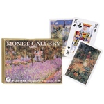 1544 - Double Deck Bridge Monet Galleries Gardens Cards