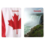 12246 - Playing Cards - Canada Facts