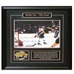 7399 - Bobby Orr Signed ''The Goal'' Deluxe Framed