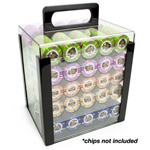 12684 - Acrylic 1000pc Poker Chip Carrier