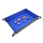 16122 - Portable Folding Leather Dice Tray