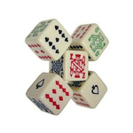 1873 - Poker 16 mm Dice