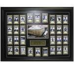 7405 - Maple Leaf Gardens Last Year - Ticket Set Deluxe Framed