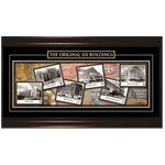 8866 - Original 6 Hockey Arena's Framed Print