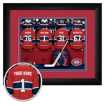 10207 - Custom Locker Room - NHL Teams