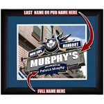 Custom Pub Sign With Your Name - Toronto Maple Leafs