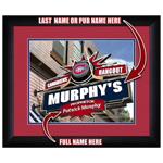10210 - Custom Pub Sign With Your Name - Any NHL Team