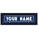 Framed Jersey Stitched Name Print - Toronto Maple Leafs