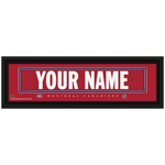 10208 - Framed Jersey Stitched NHL Name Print