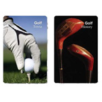 12247 - Playing Cards - Golf Facts