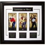 7412 - Palmer, Nicklaus and Woods Deluxe Frame