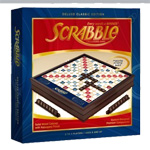 7498 - Scrabble Deluxe Wood Edition