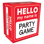 14248 - Hello My Name Is Party Game