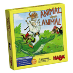 14358 - HABA Animal Upon Animal - Classic Wooden Stacking Game