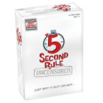5 Second Rule Uncensored Party Game
