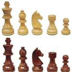 6197 - Wooden Weighted Chess Men