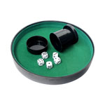 12403 - Dice Tray, Dice   Collapsible Cup