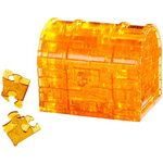 7612 - Clearly Puzzled 3D Treasure Chest Puzzler