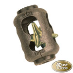 13328 - Hanayama Cast Iron Puzzler ''Cage'' Level 3