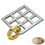 7089 - Hanayama Cast Iron Puzzler ''Duet'' Level 5