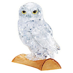13682 - Original 3D Crystal Puzzles - White Owl