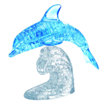 13683 - Deluxe 3D Crystal Puzzles - Blue Dolphin