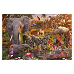 Ravensburger African Animal World - 3000 pc Puzzle