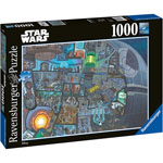 13926 - Ravensburger  Star Wars Where's Wookie 1000pc Jigsaw Puzzle
