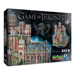 13619 - Wrebbit Game of Thrones The Red Keep -  845pc 3D Puzzle