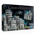 13620 - Wrebbit Game of Thrones Winterfell - 910pc 3D Puzzle