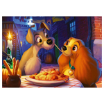13840 - Ravensburger | Disney's Lady   the Tramp 1000 piece puzzle
