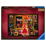 Ravensburger Disney Villains Queen of Hearts 1000 Piece Puzzle