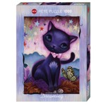 14546 - Heye Dreaming: Black Kitty by Jeremiah Ketner -  1000 PC Puzzle (29687)