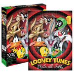 13377 - Aquarius Looney Tunes That's All folks - 1000pc Puzzle