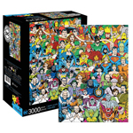 12745 - Aquarius DC Comics Retro Cast - 3000 PC Puzzle