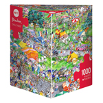 14903 - Heye Blachon: Cycle Race 1000pc Piece Puzzle