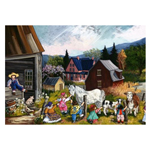 15094 - Trefl Canadian Artist Collection:  At The Farm, by Pauline Paquin - 1000 Pc Puzzle