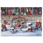 16576 - Trefl Canadian Artist Collection: He Scores! by Paquin - 1000pc Puzzle (37120)