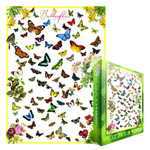 10070 - Eurographics - Butterflies 1000 Pc Puzzle