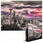 10247 - Eurographics - Seattle City Skyline 1000pc Puzzle