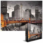 10250 - Eurographics - Chicago Michigan Ave. 1000pc Puzzle