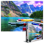 10305 - Eurographics Canoes on The Lake Jigsaw Puzzle - 1000 Piece Puzzle