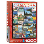 10421 - Eurographics  Vintage Ads - Travel Canada 1000 Piece Puzzle