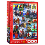 10423 - Eurographics  Royal Canadian Mounted Police 1000 Piece Puzzle