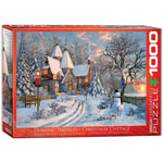 11789 - Eurographics Christmas Cottage 1000-Piece Puzzle