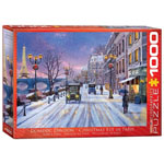 11790 - Eurographics Christmas Eve in Paris 1000-Piece Puzzle