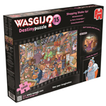 10285 - Wasgij Destiny: #15 Shopping Shake Up 1000 Piece Puzzle